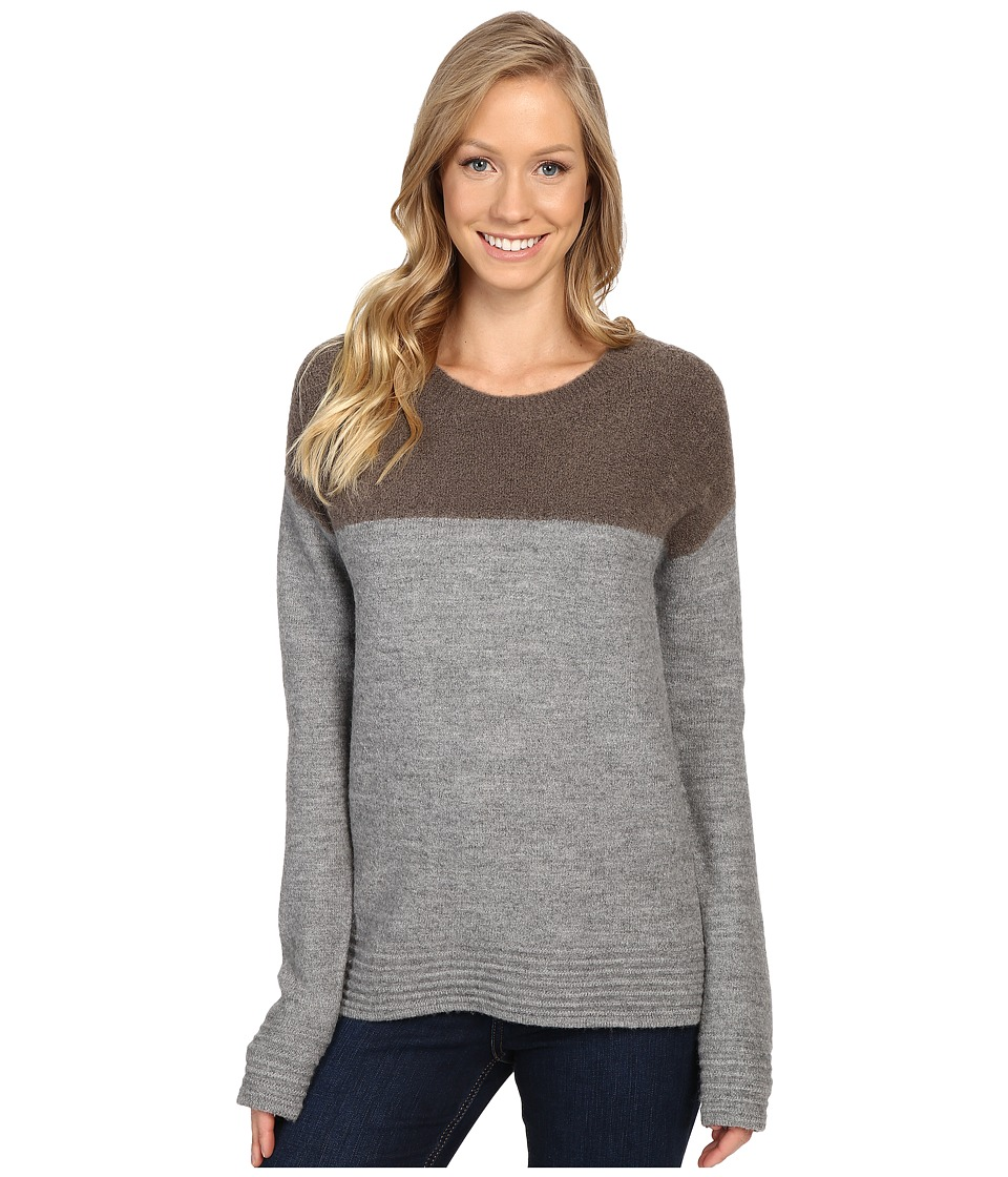 Toad&Co - Kaya Crew Sweater (Heather Grey) Women's Clothing