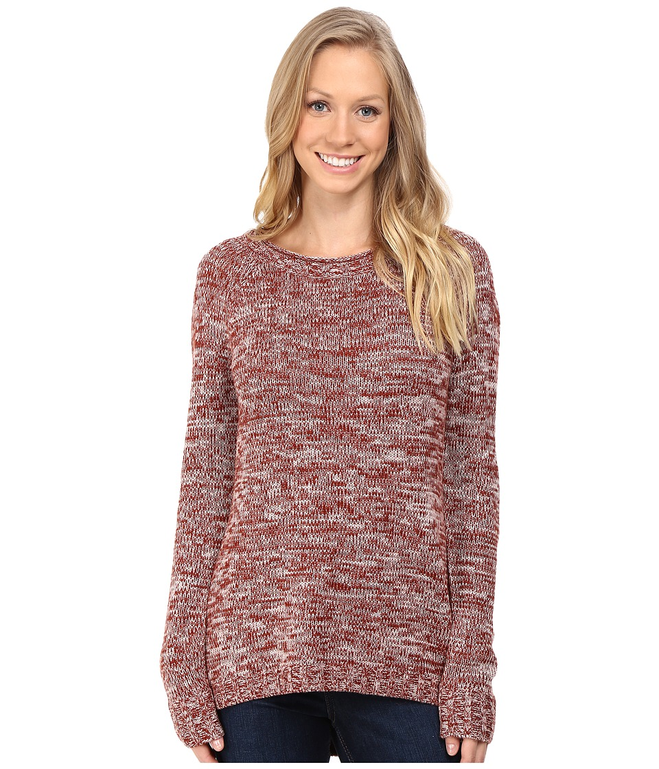 Toad&Co - Marlevelous Pullover (Dark Chestnut) Women's Sweater