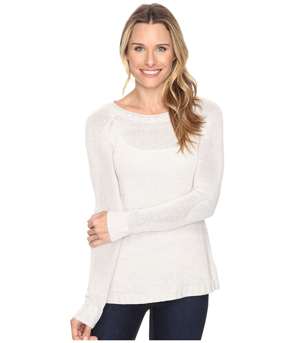 Toad&Co - Marlevelous Pullover (Polar Bear) Women's Sweater