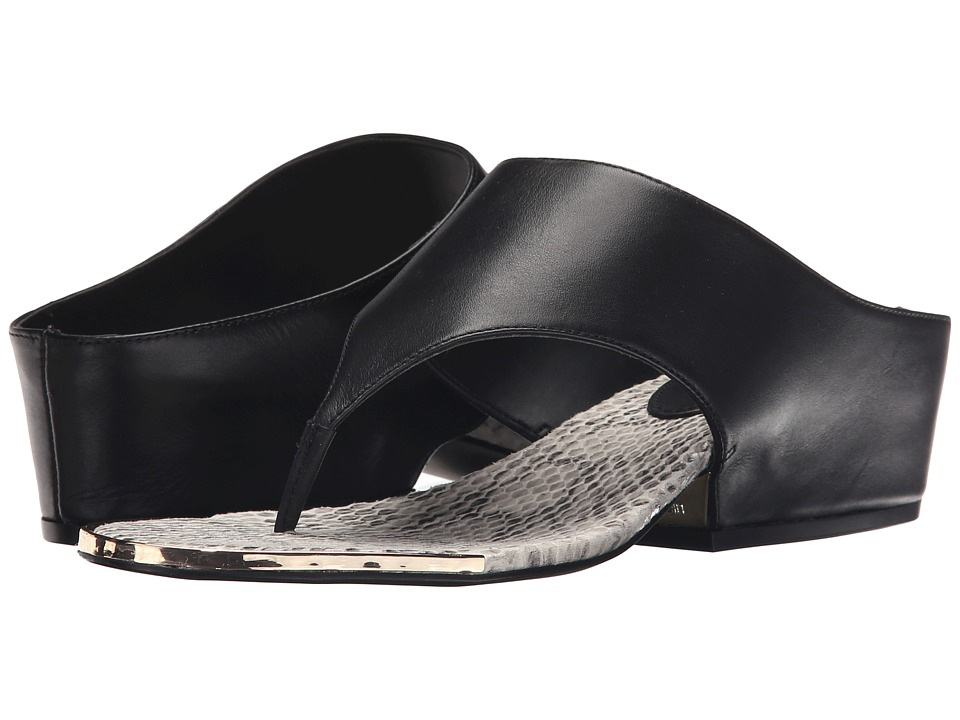 Calvin Klein - Ciara (Black Leather) Women's Sandals