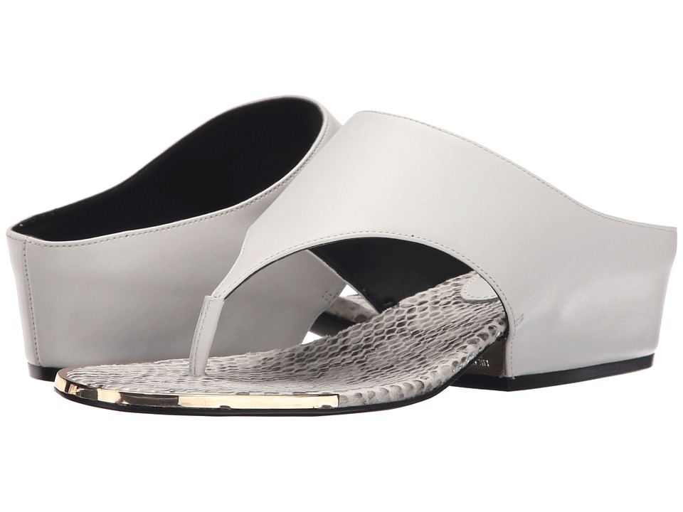 Calvin Klein - Ciara (Platinum White Leather) Women's Sandals