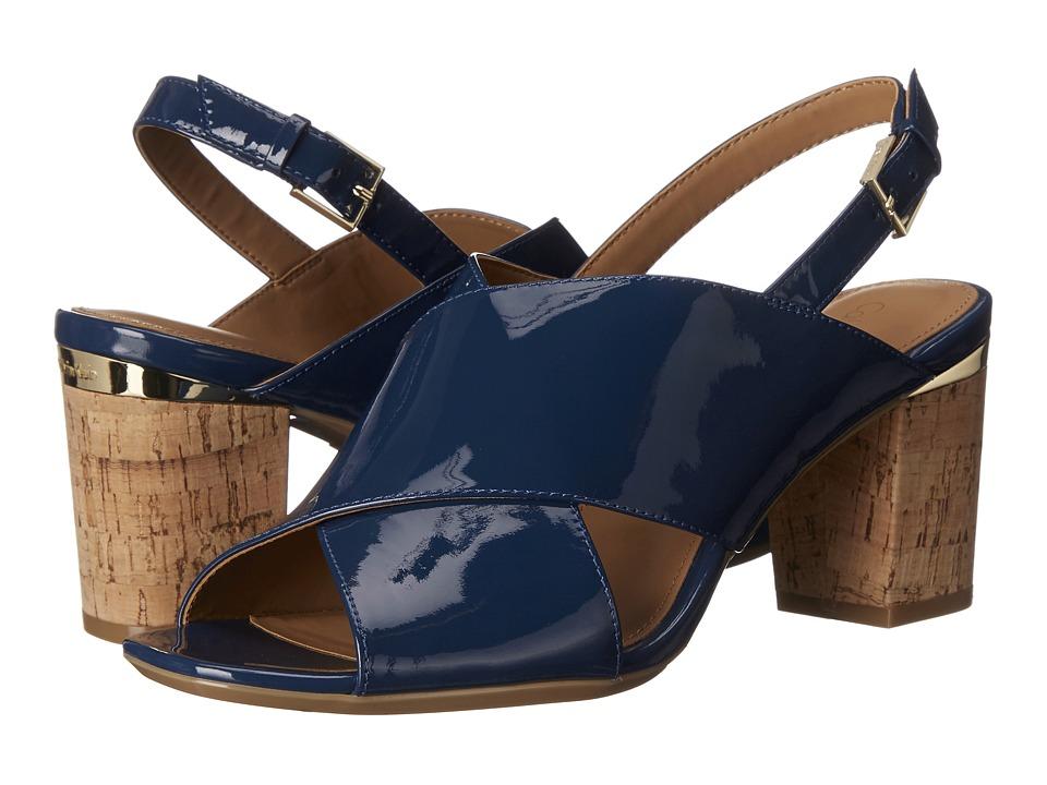 Calvin Klein - Cindya (Marine Patent) High Heels