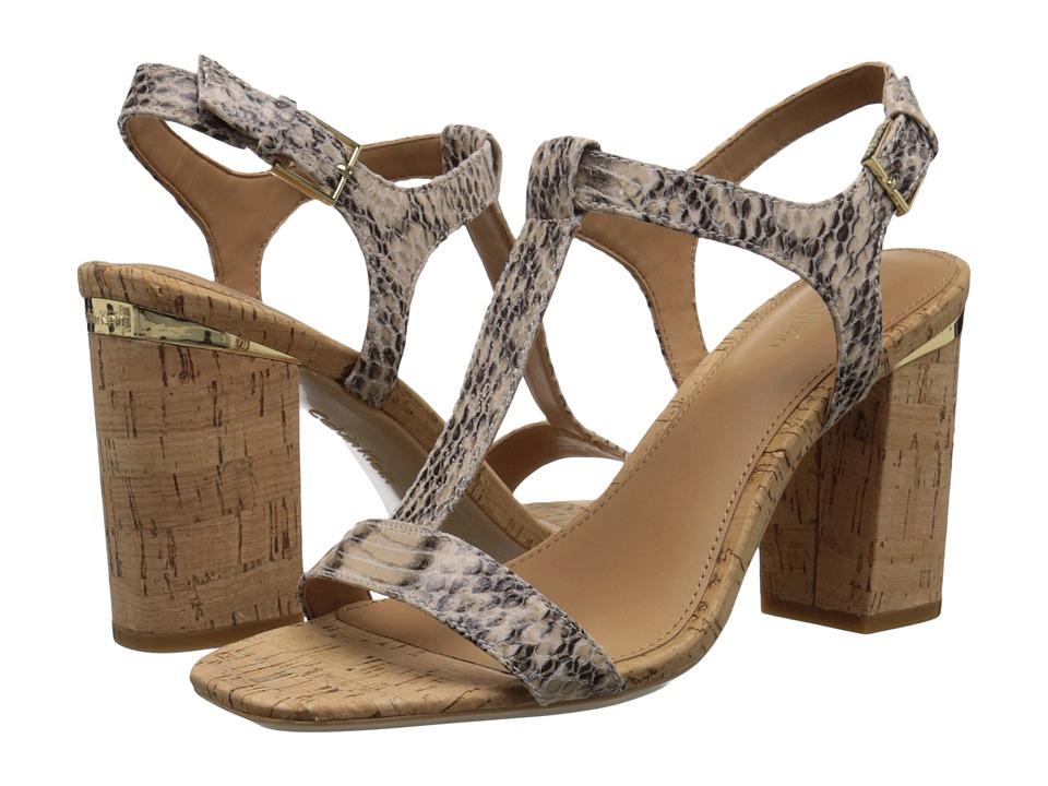 Calvin Klein - Crimson (Cocoon Muted Snake Print Leather) High Heels