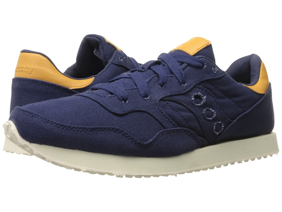 Saucony Originals - DXN Trainer (Navy Canvas) Men's Lace up casual Shoes