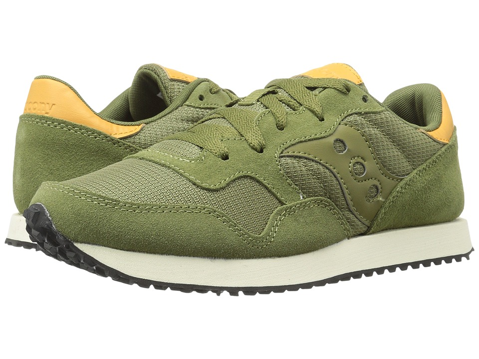 Saucony Originals - DXN Trainer (Olive) Men's Lace up casual Shoes