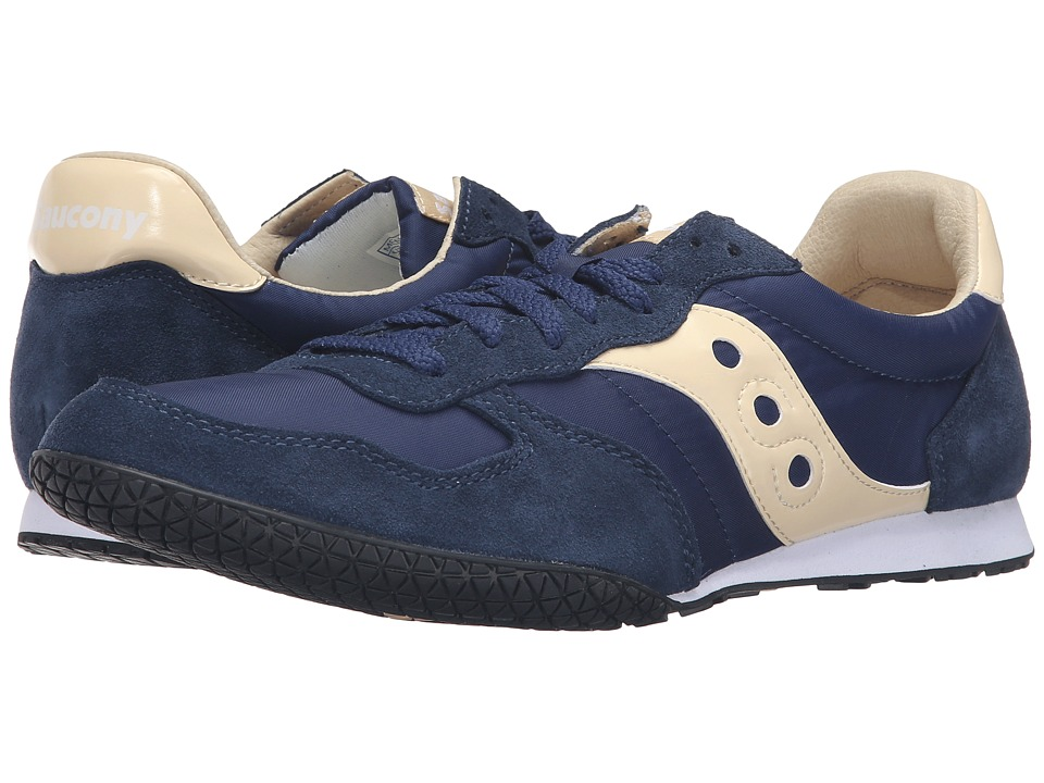 Saucony Originals Bullet (Navy/Cream) Men