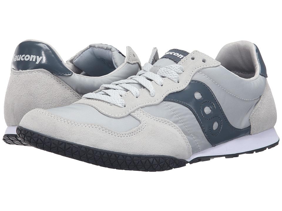 Saucony Originals - Bullet (Light Grey/Slate) Men's Classic Shoes