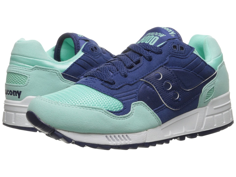Saucony Originals - Shadow 5000 (Blue/Mint) Women's Classic Shoes