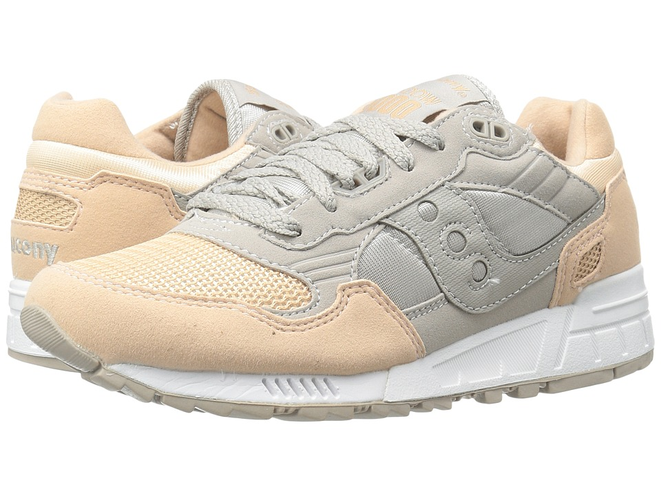 Saucony Originals - Shadow 5000 (Grey/Light Pink) Women's Classic Shoes