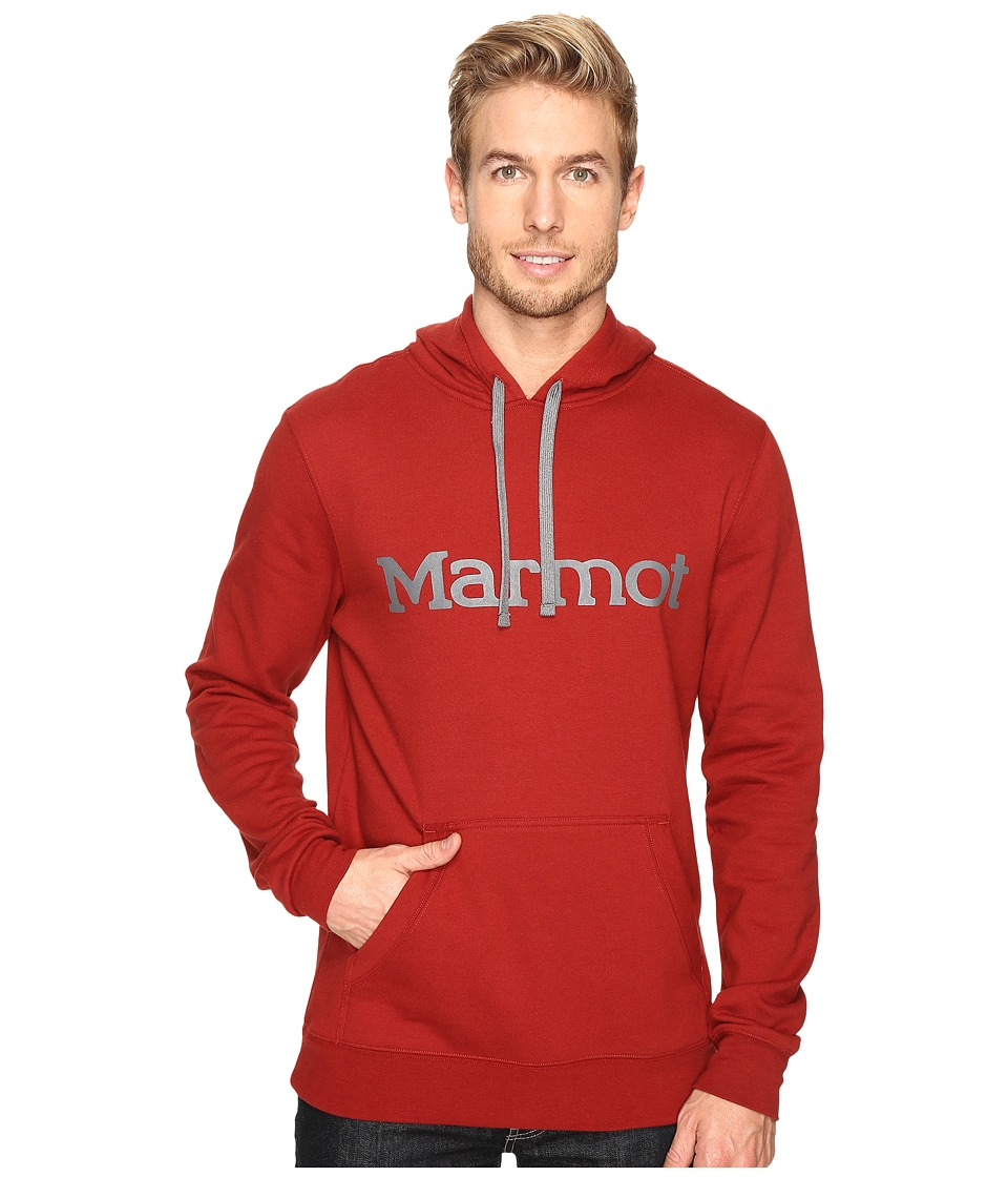 Marmot - Marmot Hoodie (Redstone) Men's Clothing