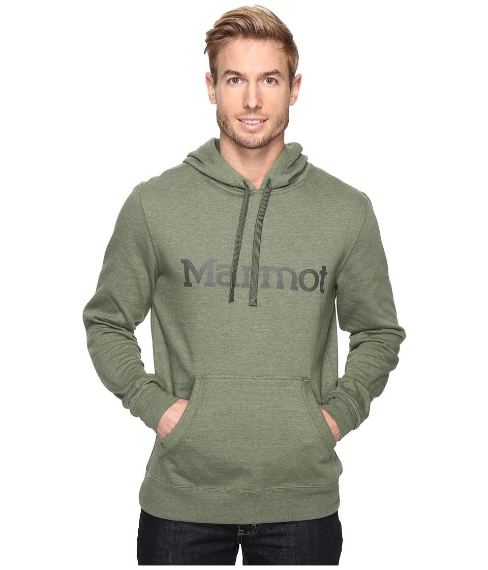 Marmot - Marmot Hoodie (Stone Green) Men's Clothing
