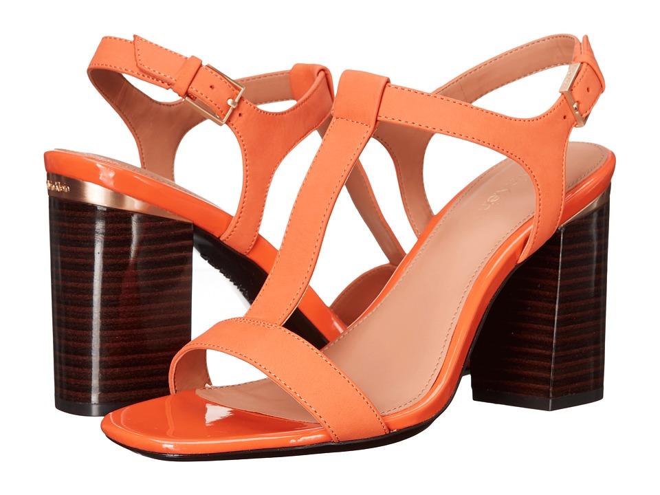 Calvin Klein - Crimson (Tangerine Nubuck) High Heels