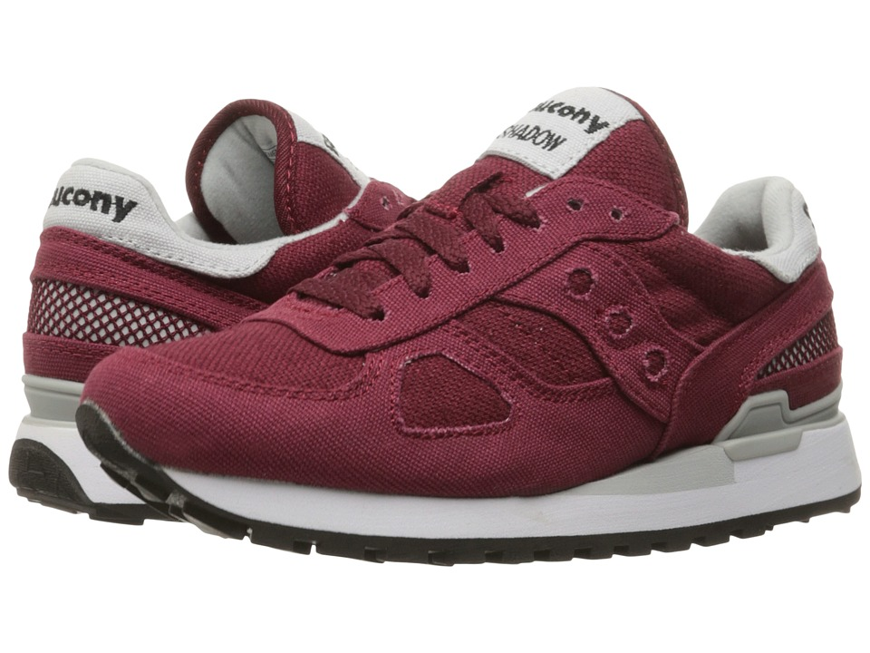 Saucony Originals - Shadow Vegan (Burgundy) Women's Classic Shoes