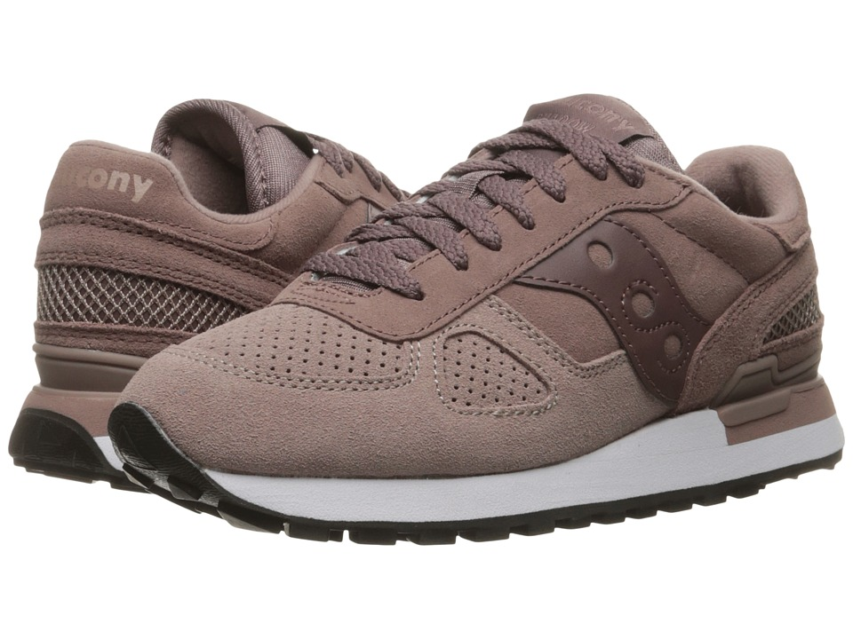 Saucony Originals - Shadow O Suede (Plum) Women's Lace up casual Shoes