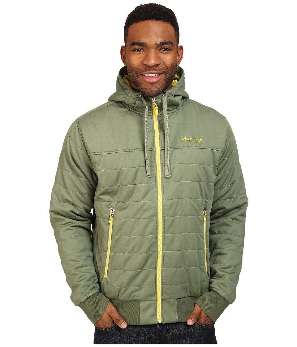 Marmot - Summit Rock Insulated Hoodie (Stone Green) Men's Sweatshirt