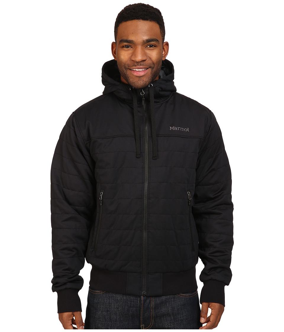 Marmot - Summit Rock Insulated Hoodie (Black) Men's Sweatshirt