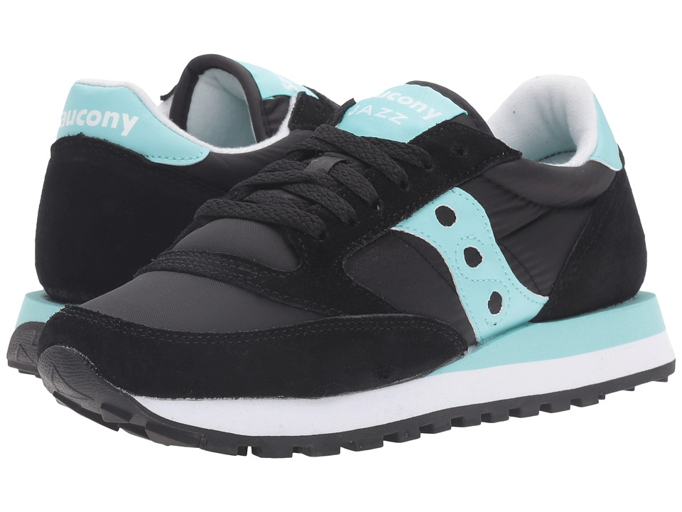 Saucony Originals - Jazz Original (Black/Mint) Women's Classic Shoes