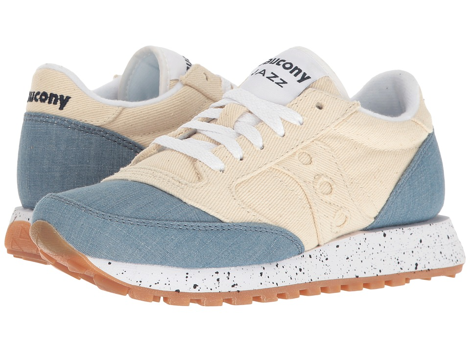 Saucony Originals - Jazz O Denim (Off-White) Women's Lace up casual Shoes