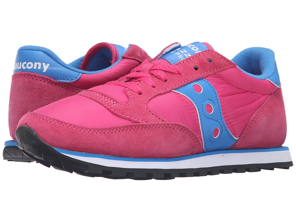Saucony Originals - Jazz Low Pro (Pink/Blue) Women's Classic Shoes