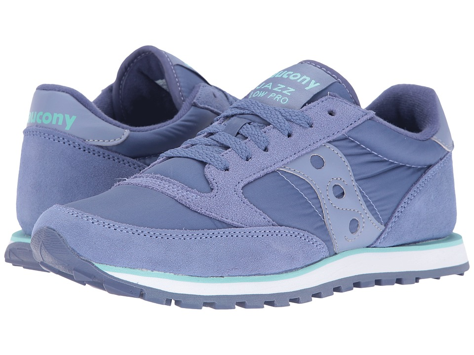 Saucony Originals - Jazz Low Pro (Periwinkle) Women's Classic Shoes