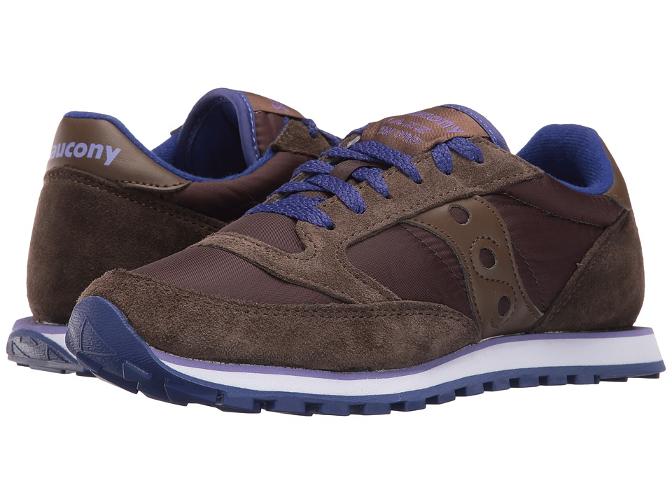 Saucony Originals - Jazz Low Pro (Brown) Women's Classic Shoes