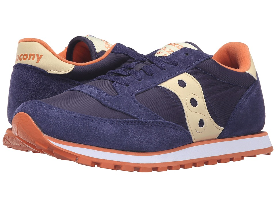 Saucony Originals - Jazz Low Pro (Blue/Cream) Women's Classic Shoes