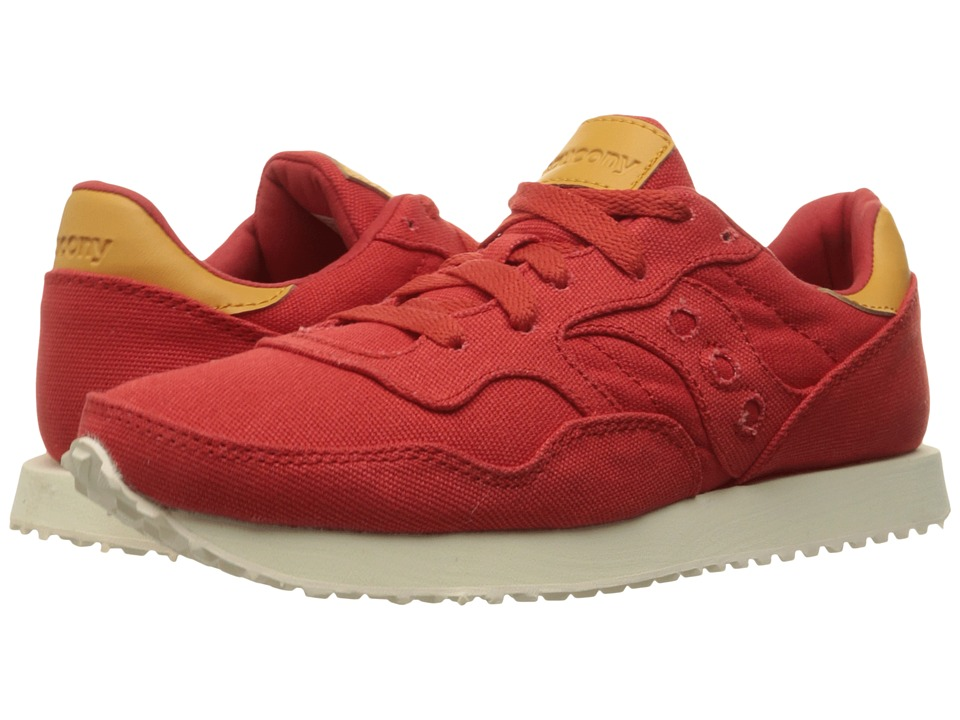 Saucony Originals DXN Trainer (Red Canvas) Women