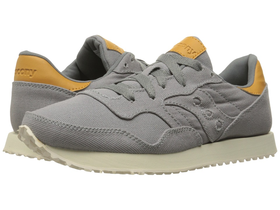Saucony Originals DXN Trainer (Grey Canvas) Women