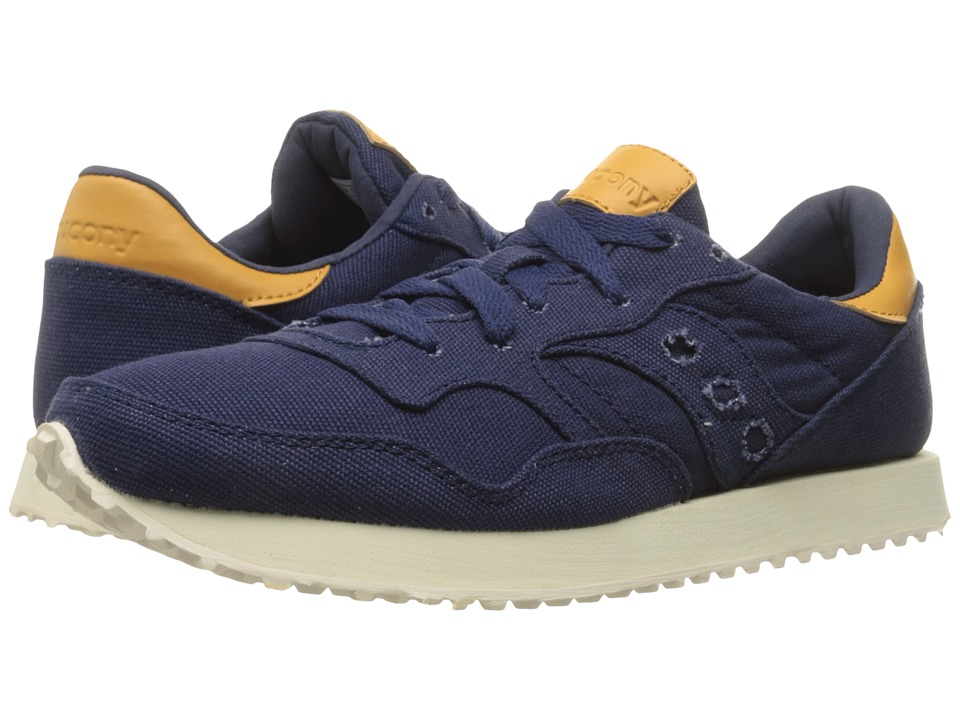 Saucony Originals - DXN Trainer (Navy Canvas) Women's Lace up casual Shoes
