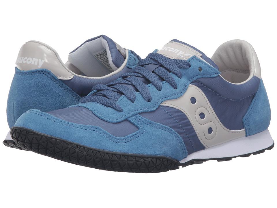 Saucony Originals - Bullet (Blue/Light Blue) Women's Classic Shoes