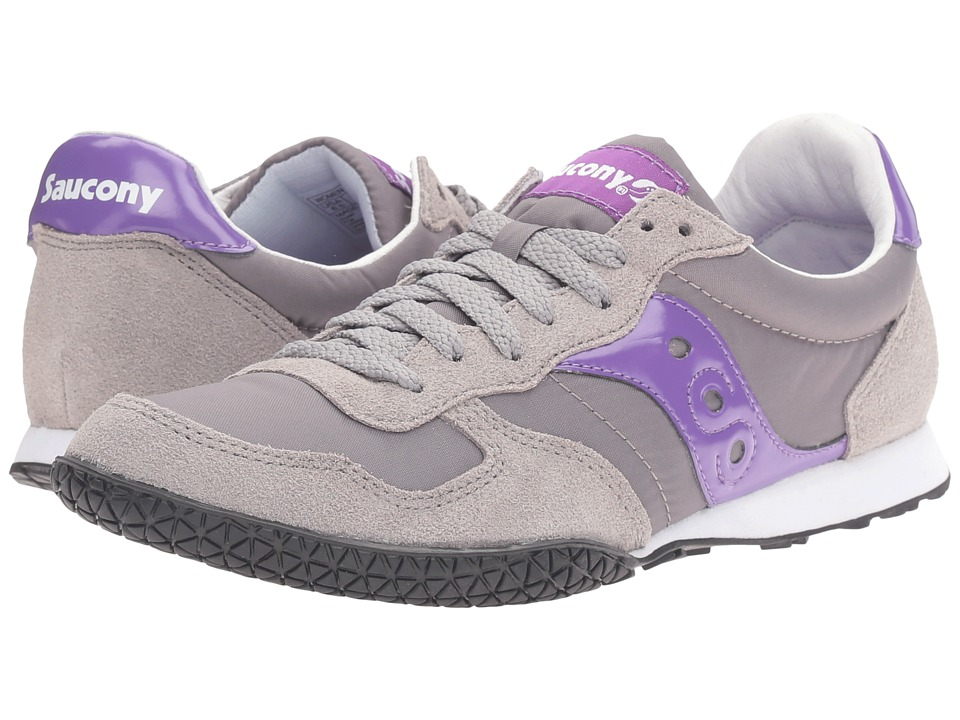Saucony Originals - Bullet (Grey/Purple 1) Women's Classic Shoes