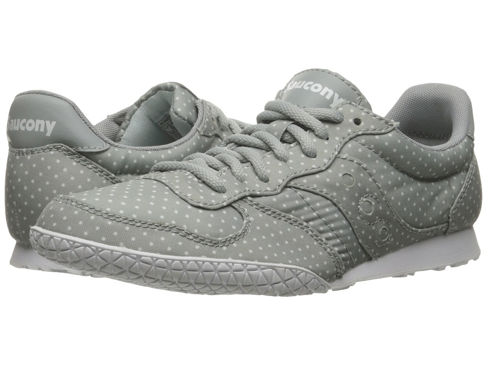 Saucony Originals - Bullet Dots (Light Grey) Women's Lace up casual Shoes