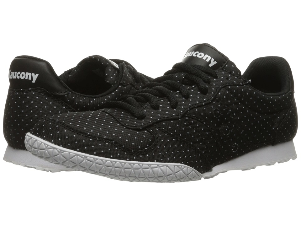 Saucony Originals - Bullet Dots (Black) Women's Lace up casual Shoes