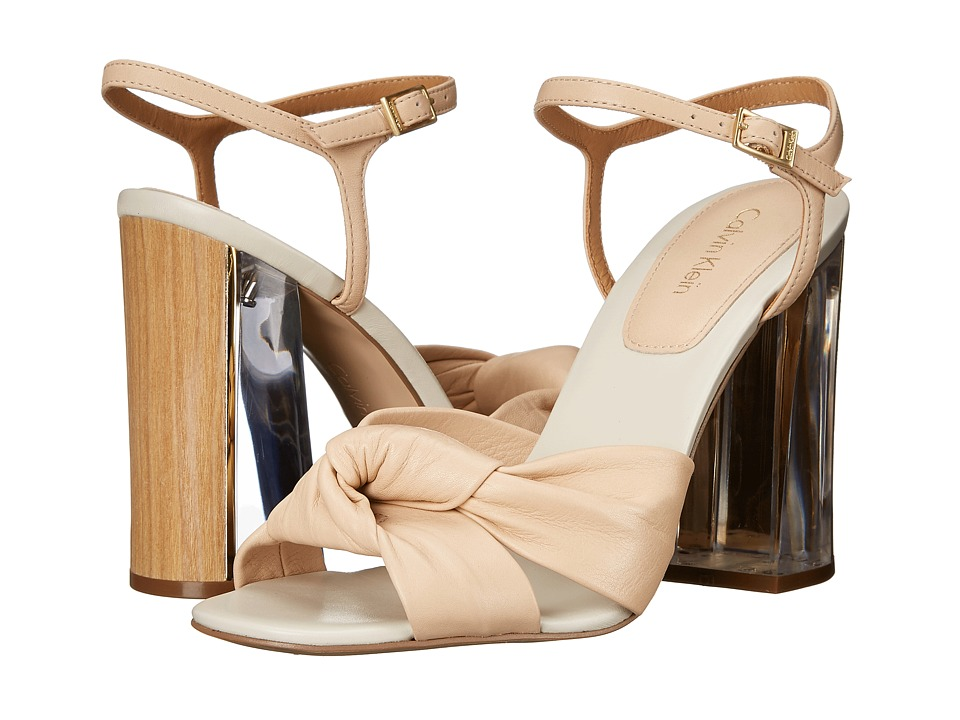 Calvin Klein Laureen (Sandstorm Cervo Leather) High Heels