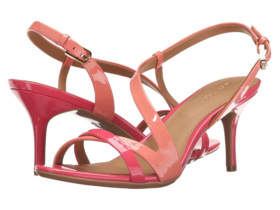 Calvin Klein - Lorren (Salmon Rose Patent) Women's Dress Sandals