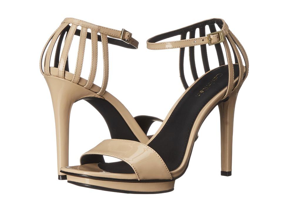 Calvin Klein - Viviana (Sandstorm Patent) High Heels
