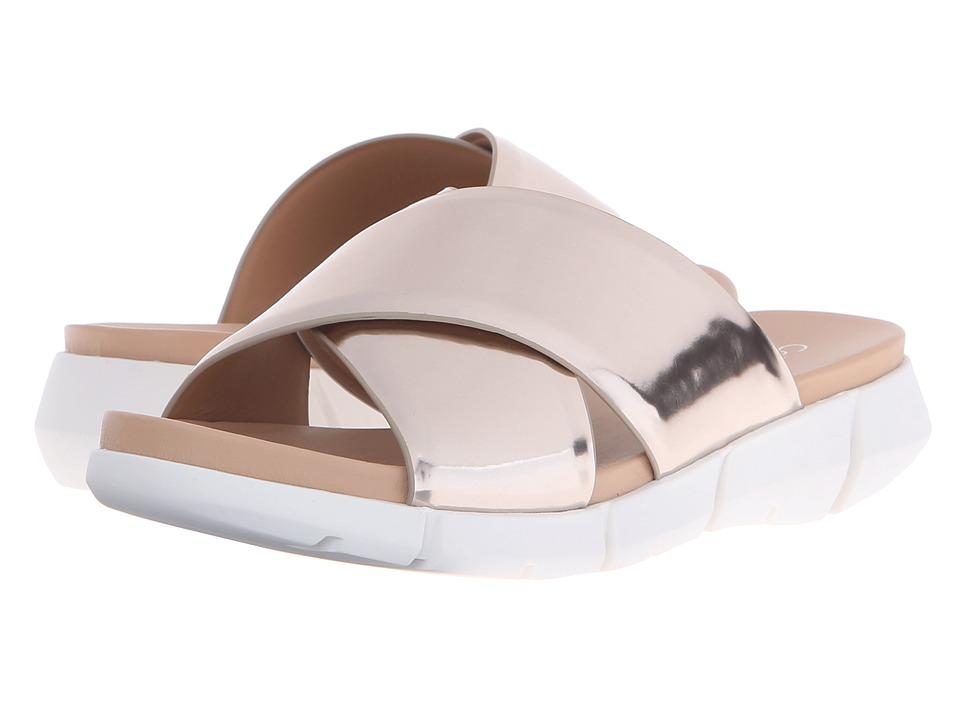 Calvin Klein Whitley (Soft Platinum Metallic Box Leather) Women