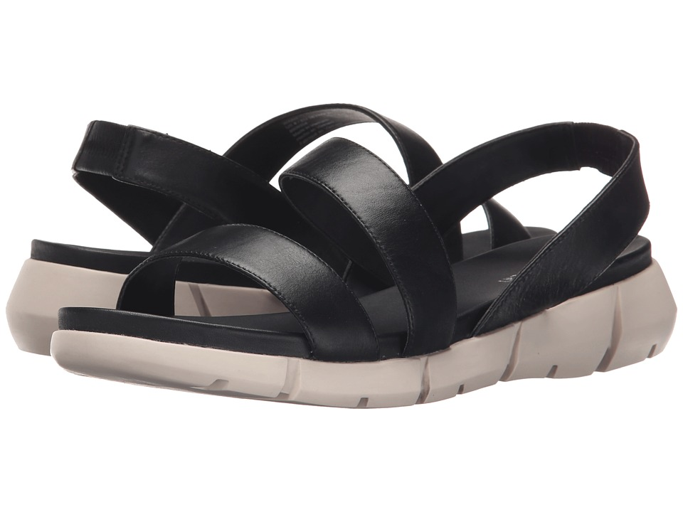 Calvin Klein - Winny (Black Leather) Women's Sandals