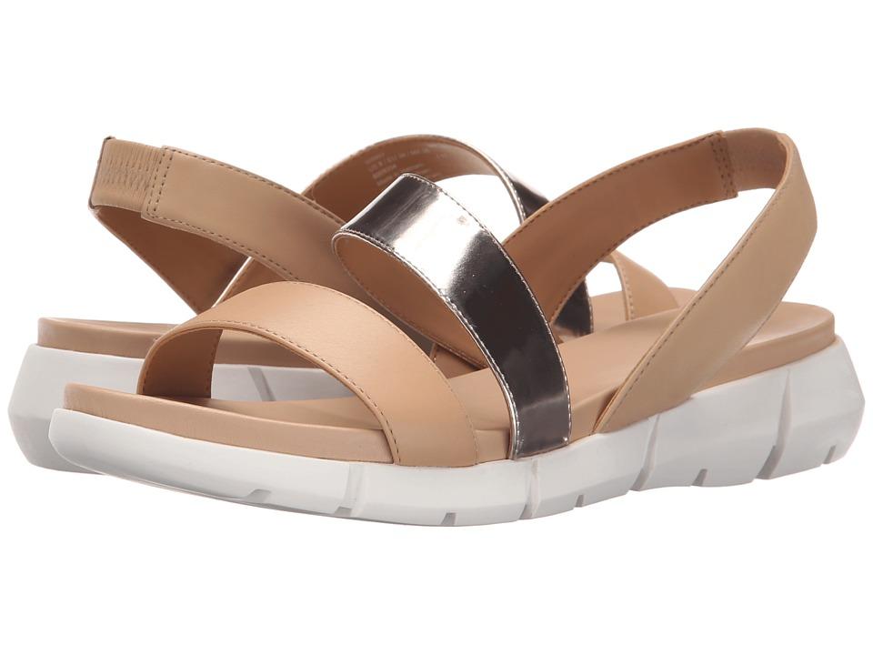 Calvin Klein - Winny (Blush Nude/Soft Platinum Leather/Metallic Box Leather) Women