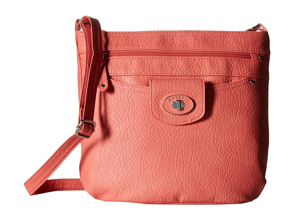 Rosetti - Carmen Mid Crossbody (Carnation) Cross Body Handbags