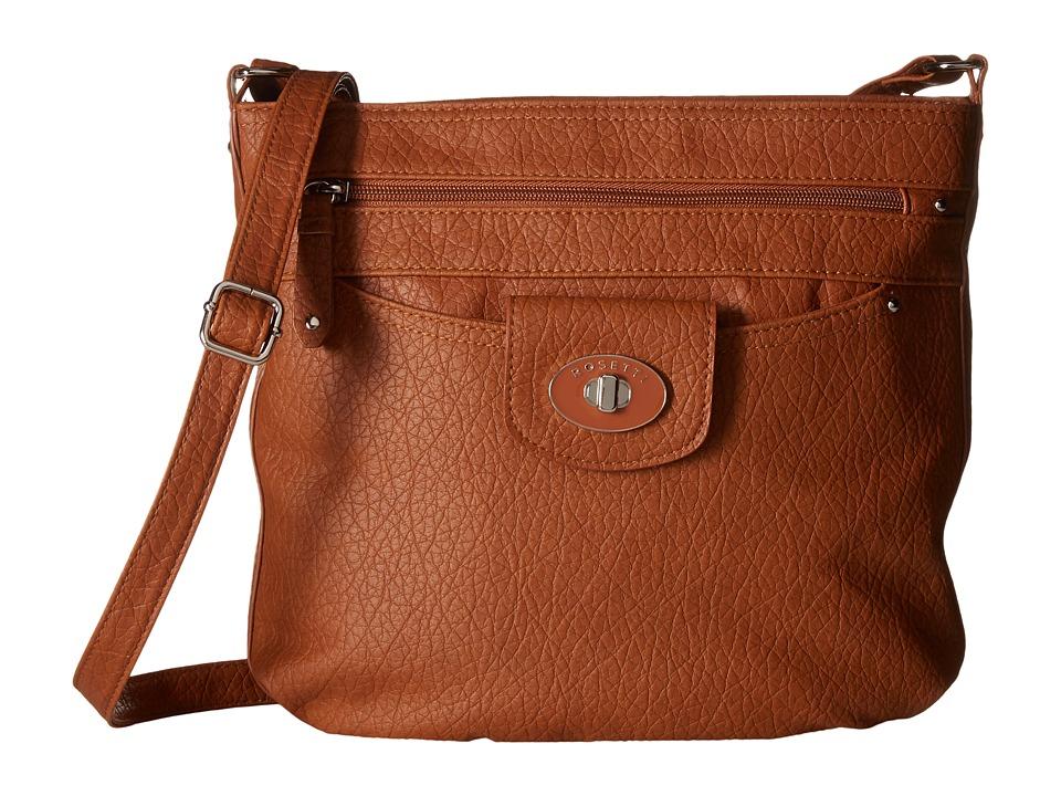 Rosetti - Carmen Mid Crossbody (Chestnut) Cross Body Handbags