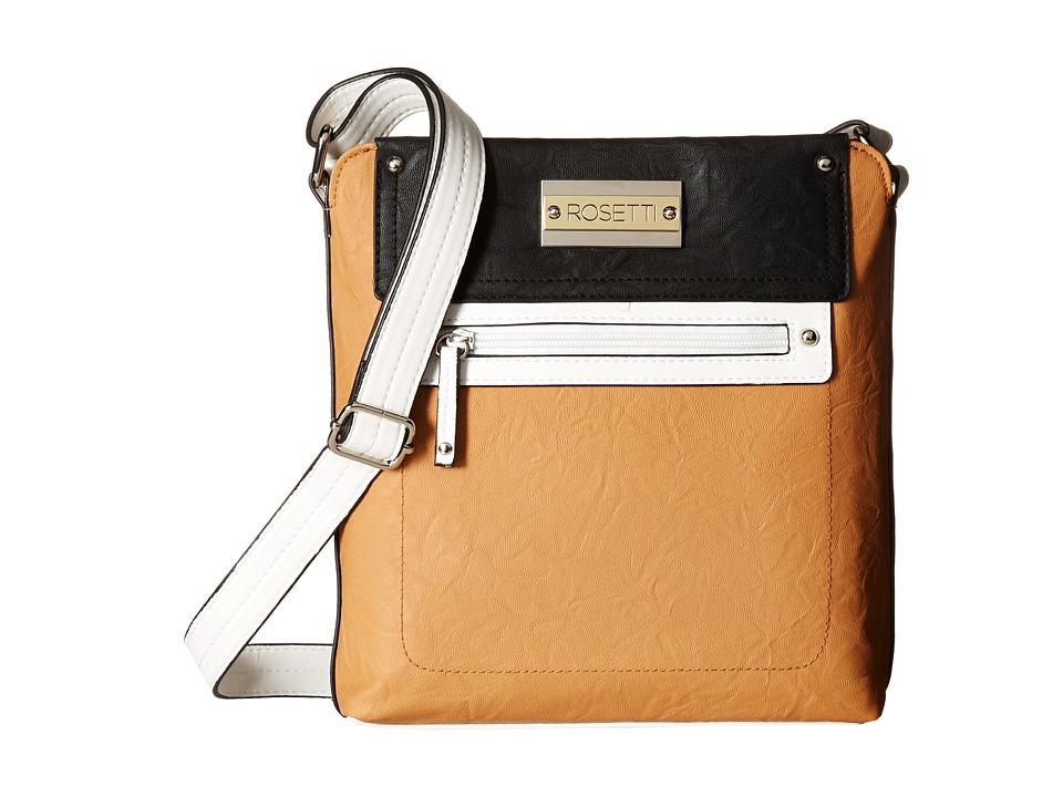 Rosetti - Vice Versa Mid Crossbody (Vachetta Color Block) Cross Body Handbags