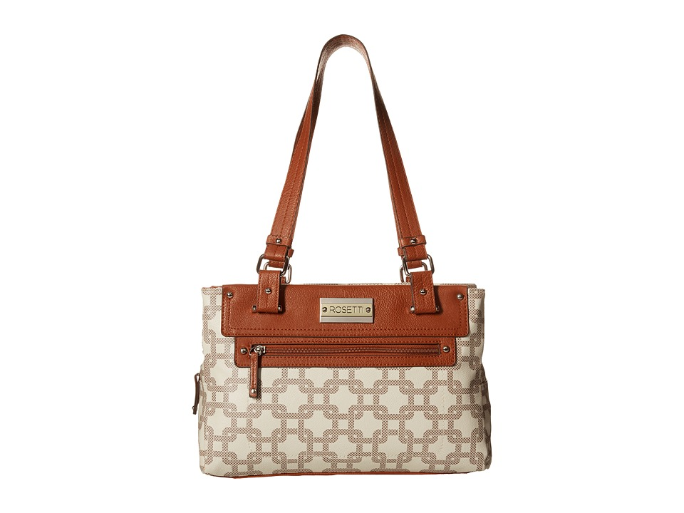 Rosetti - Vice Versa Satchel (XL Bone) Satchel Handbags