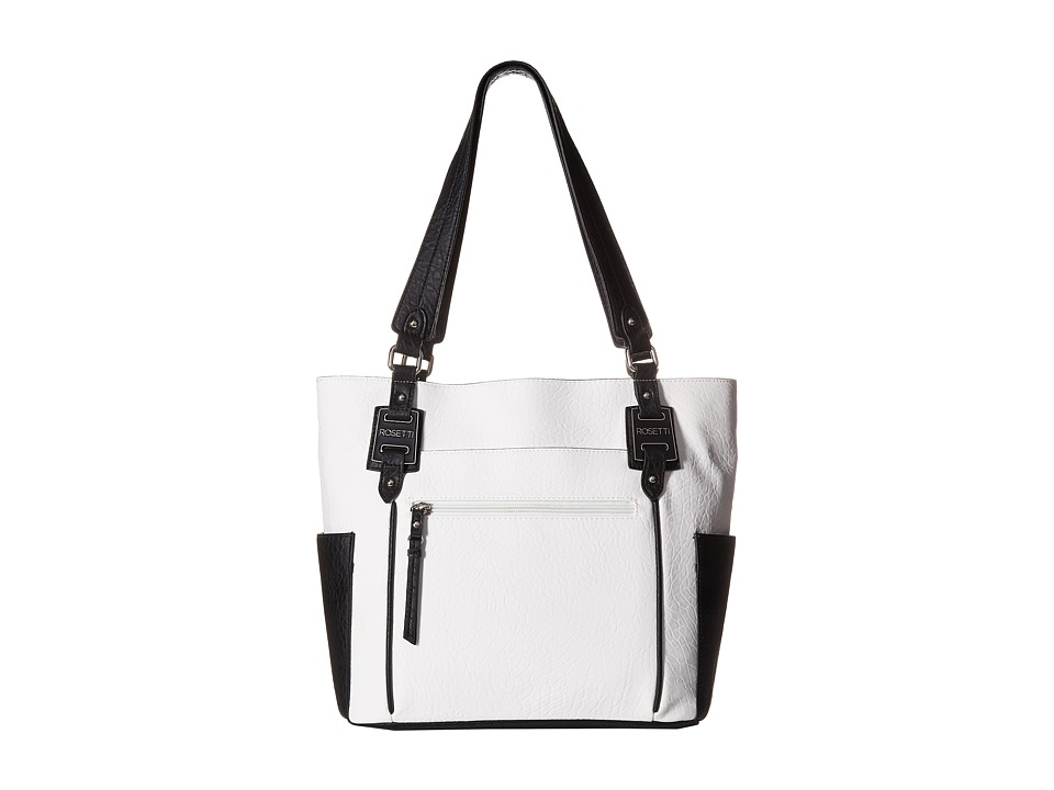 Rosetti - Kendall Double Handle (White Two-Toned) Handbags