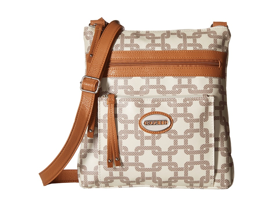Rosetti - Loni Mid Crossbody (XL Bone) Cross Body Handbags