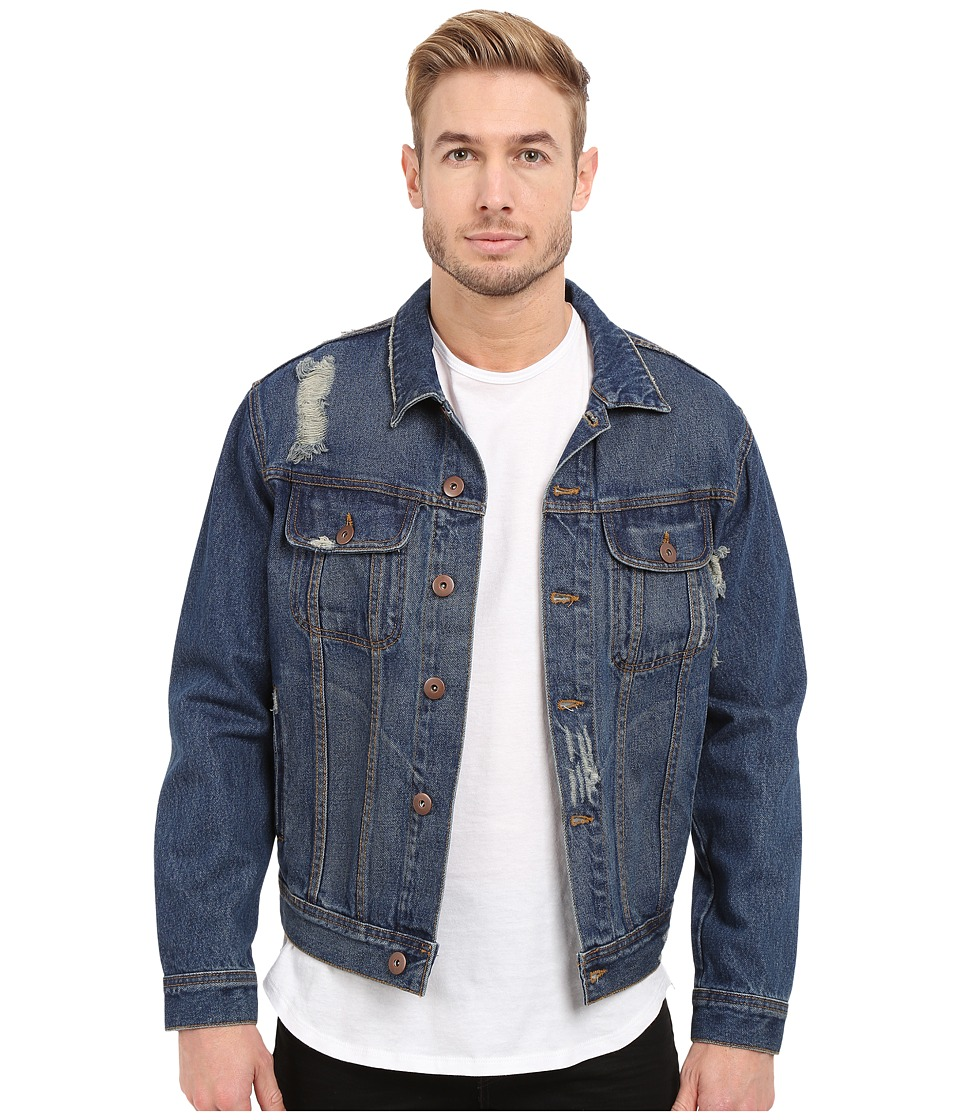 Rustic Dime - Denim Jacket (Dark Indigo) Men's Coat