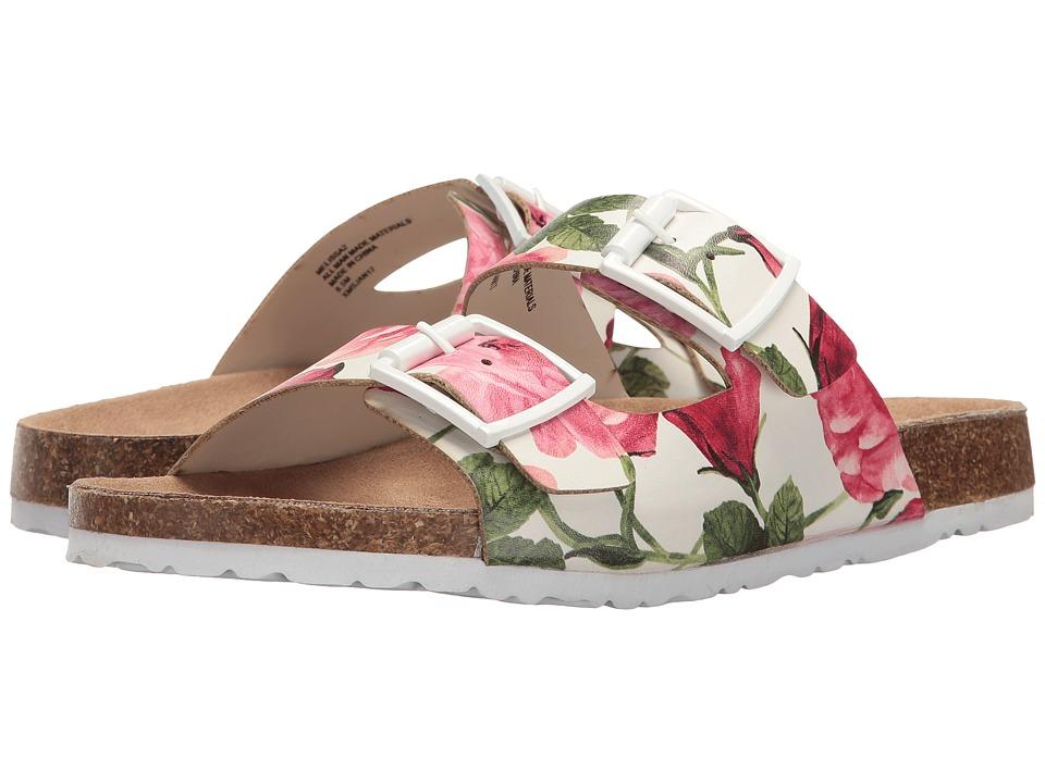 UNIONBAY - Melissa2 (White Floral) Women's Shoes