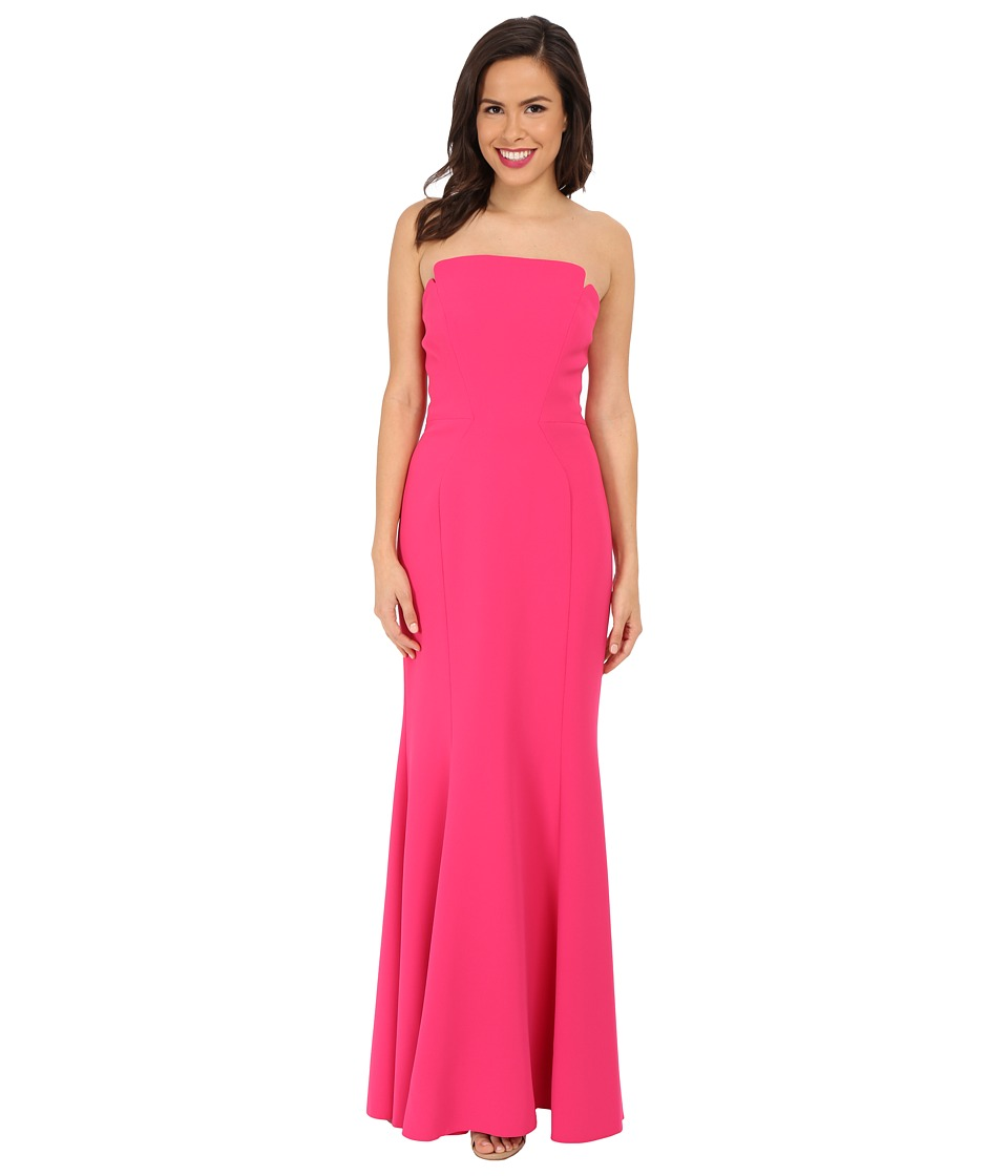 JILL JILL STUART - Harlow Strapless Hourglass Gown (Peony) Women's Dress