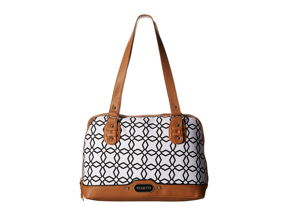 Rosetti - Pasadena Satchel (Trevi Black/White) Satchel Handbags