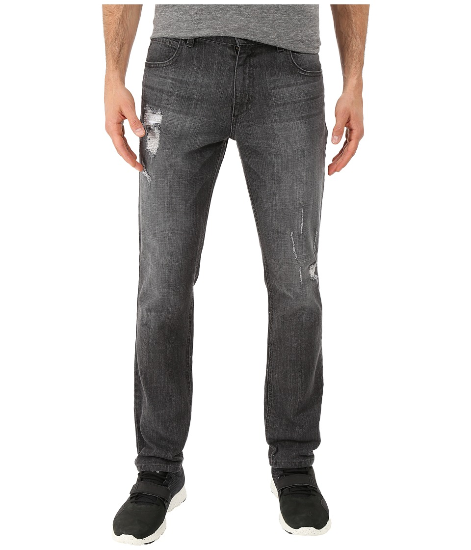 Rustic Dime - Taper Fit in Asphalt (Asphalt) Men's Jeans